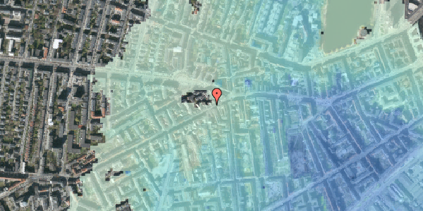 Stomflod og havvand på Vesterbrogade 90, 1. 1, 1620 København V