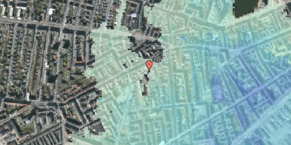 Stomflod og havvand på Vesterbrogade 91B, 4. th, 1620 København V