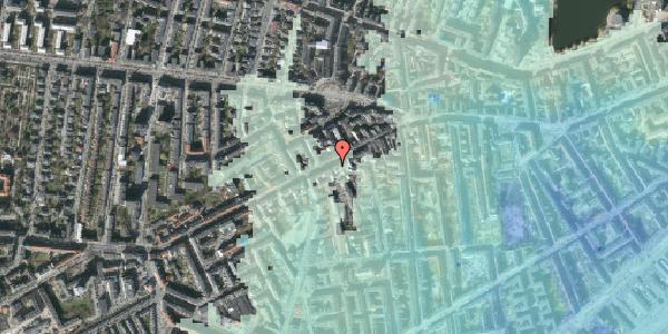 Stomflod og havvand på Vesterbrogade 93, st. th, 1620 København V