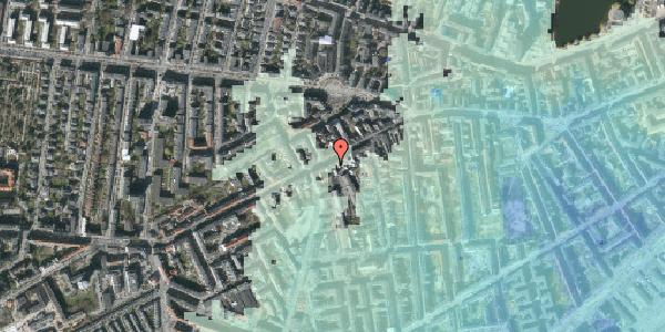 Stomflod og havvand på Vesterbrogade 95, 4. tv, 1620 København V