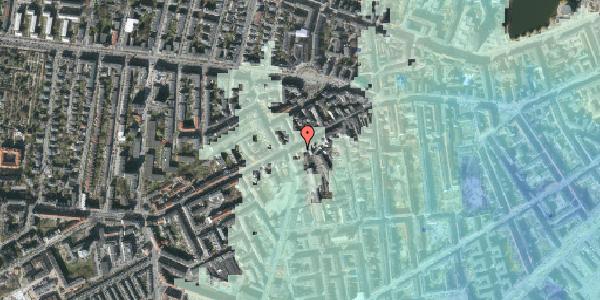 Stomflod og havvand på Vesterbrogade 97C, 1. , 1620 København V