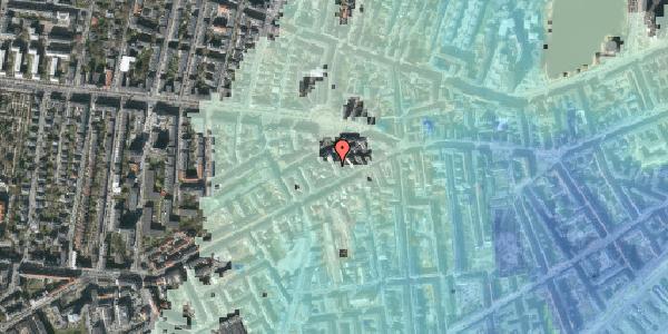 Stomflod og havvand på Vesterbrogade 98C, 4. tv, 1620 København V