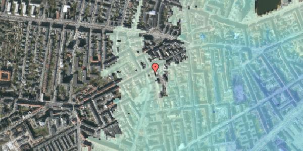 Stomflod og havvand på Vesterbrogade 99A, kl. , 1620 København V