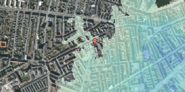 Stomflod og havvand på Vesterbrogade 99B, 1. th, 1620 København V