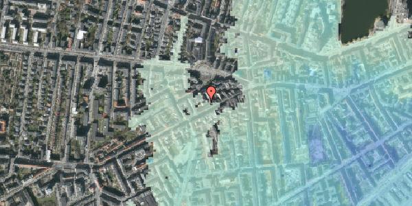 Stomflod og havvand på Vesterbrogade 100B, 2. , 1620 København V