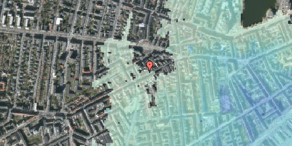 Stomflod og havvand på Vesterbrogade 100C, 5. , 1620 København V