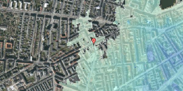 Stomflod og havvand på Vesterbrogade 103, 2. , 1620 København V