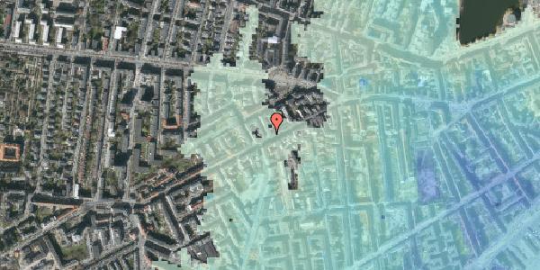 Stomflod og havvand på Vesterbrogade 104, 4. th, 1620 København V