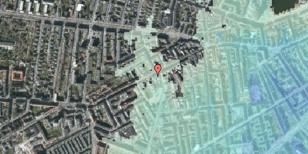Stomflod og havvand på Vesterbrogade 105B, 1620 København V