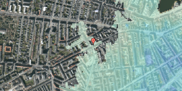 Stomflod og havvand på Vesterbrogade 106B, 1. tv, 1620 København V