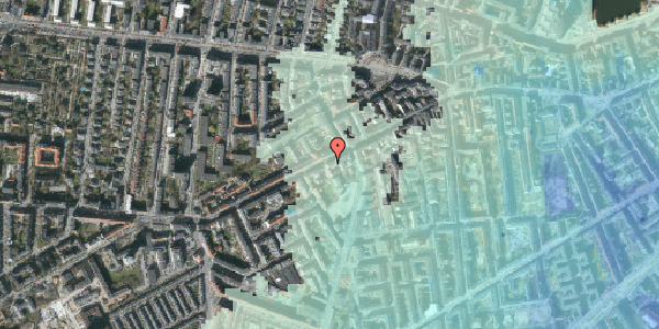 Stomflod og havvand på Vesterbrogade 107B, 2. th, 1620 København V