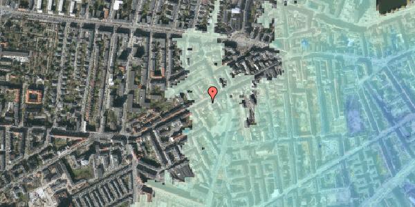 Stomflod og havvand på Vesterbrogade 107C, 2. , 1620 København V