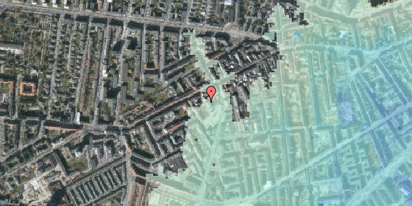 Stomflod og havvand på Vesterbrogade 107E, 2. , 1620 København V