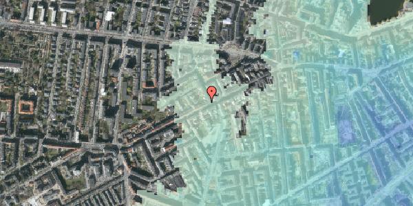 Stomflod og havvand på Vesterbrogade 108, 3. th, 1620 København V