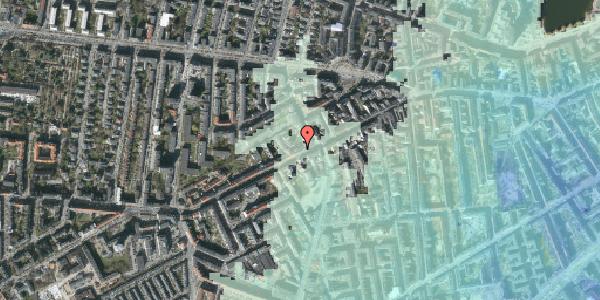 Stomflod og havvand på Vesterbrogade 110, kl. 1, 1620 København V