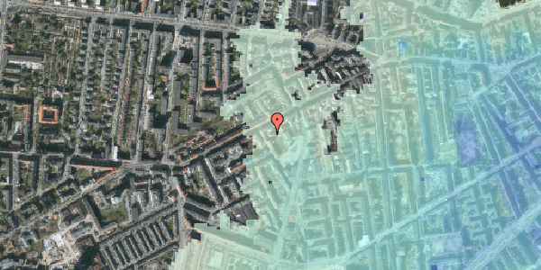 Stomflod og havvand på Vesterbrogade 111A, 2. th, 1620 København V