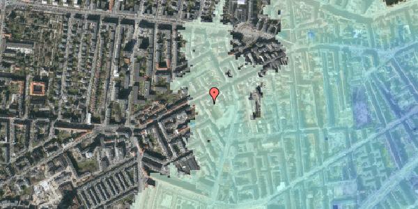Stomflod og havvand på Vesterbrogade 111A, 3. tv, 1620 København V