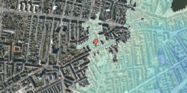 Stomflod og havvand på Vesterbrogade 112A, kl. 1, 1620 København V