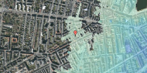 Stomflod og havvand på Vesterbrogade 112B, 2. , 1620 København V