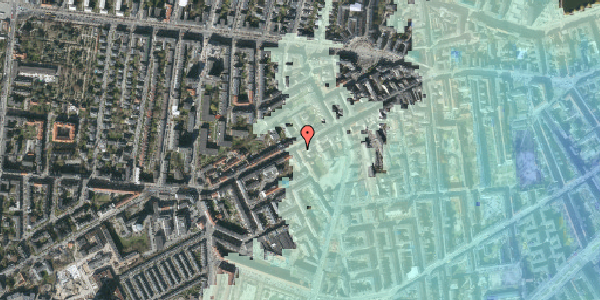 Stomflod og havvand på Vesterbrogade 113, 2. th, 1620 København V