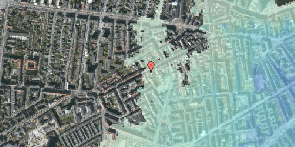 Stomflod og havvand på Vesterbrogade 113, 3. th, 1620 København V