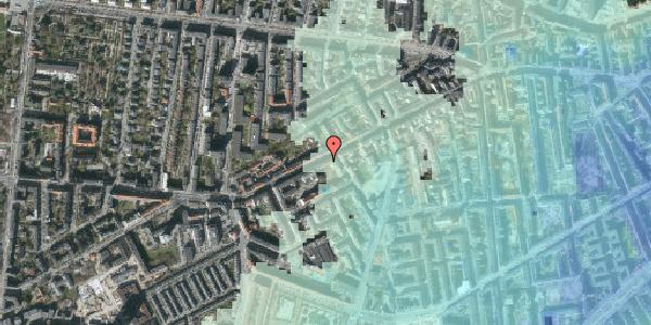 Stomflod og havvand på Vesterbrogade 115, 1. th, 1620 København V