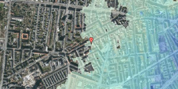 Stomflod og havvand på Vesterbrogade 117, kl. th, 1620 København V
