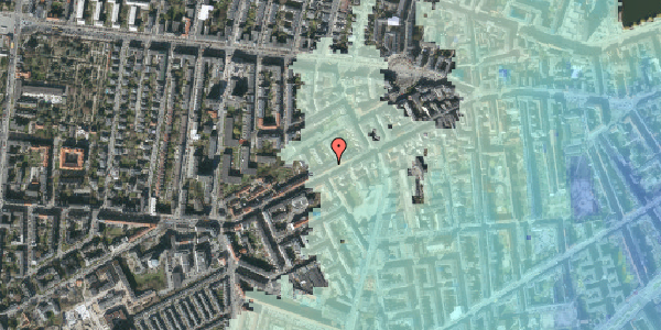Stomflod og havvand på Vesterbrogade 118B, 3. th, 1620 København V