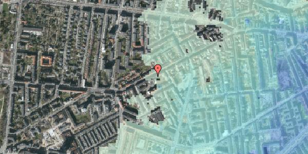 Stomflod og havvand på Vesterbrogade 119, 3. th, 1620 København V