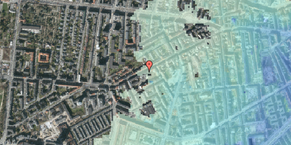 Stomflod og havvand på Vesterbrogade 119, 4. tv, 1620 København V