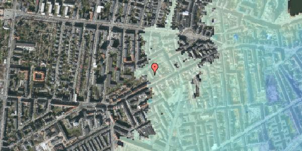 Stomflod og havvand på Vesterbrogade 120B, 3. tv, 1620 København V
