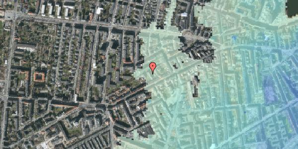 Stomflod og havvand på Vesterbrogade 120C, 1. tv, 1620 København V