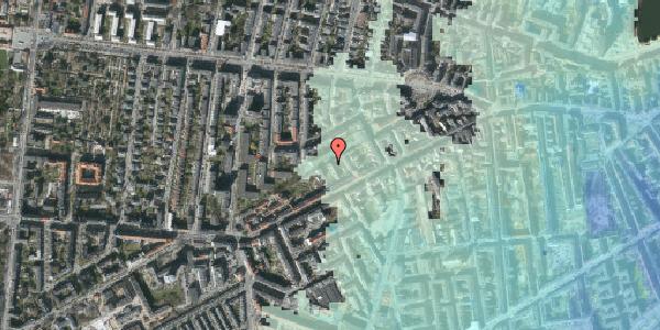 Stomflod og havvand på Vesterbrogade 120D, 2. tv, 1620 København V