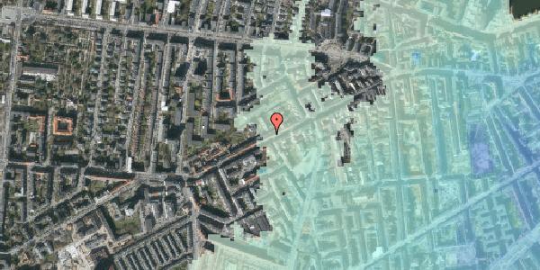 Stomflod og havvand på Vesterbrogade 120, 4. th, 1620 København V
