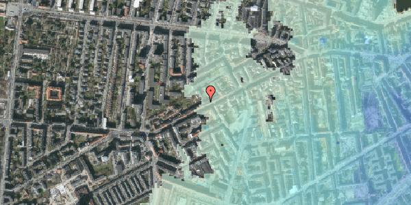 Stomflod og havvand på Vesterbrogade 122, kl. tv, 1620 København V