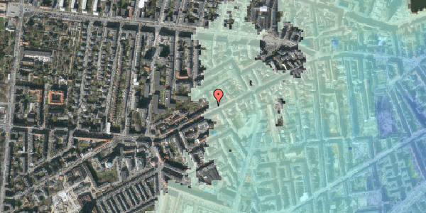 Stomflod og havvand på Vesterbrogade 122, 4. th, 1620 København V
