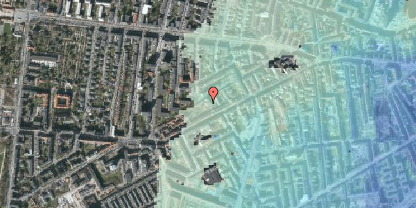 Stomflod og havvand på Vesterbrogade 124B, kl. , 1620 København V