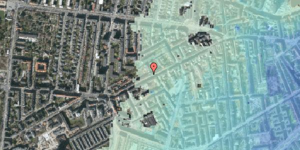 Stomflod og havvand på Vesterbrogade 124, 3. , 1620 København V