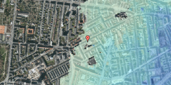 Stomflod og havvand på Vesterbrogade 125, 1. th, 1620 København V