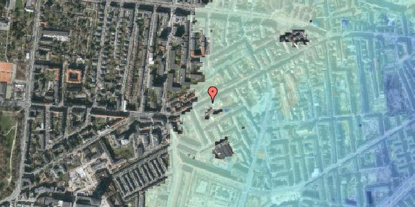 Stomflod og havvand på Vesterbrogade 125, 3. tv, 1620 København V