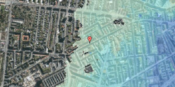 Stomflod og havvand på Vesterbrogade 126, 2. tv, 1620 København V