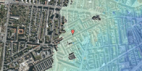 Stomflod og havvand på Vesterbrogade 126, 3. th, 1620 København V