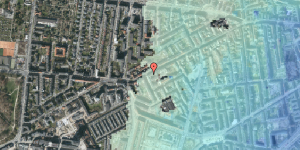 Stomflod og havvand på Vesterbrogade 127A, 1. th, 1620 København V