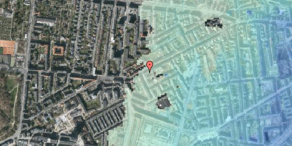 Stomflod og havvand på Vesterbrogade 127A, 3. th, 1620 København V