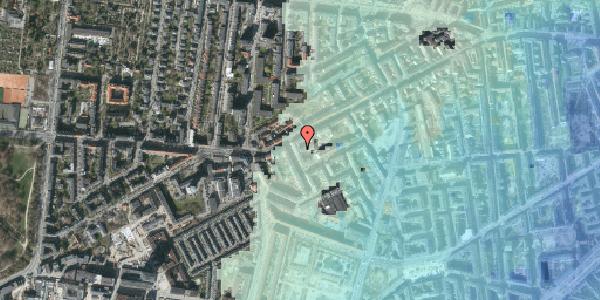 Stomflod og havvand på Vesterbrogade 127E, 1. , 1620 København V