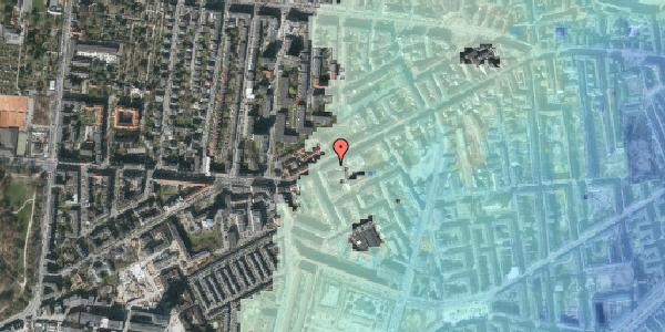 Stomflod og havvand på Vesterbrogade 127, 2. th, 1620 København V