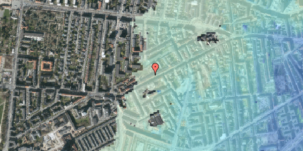 Stomflod og havvand på Vesterbrogade 128B, 4. th, 1620 København V