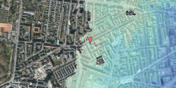 Stomflod og havvand på Vesterbrogade 129, 2. th, 1620 København V