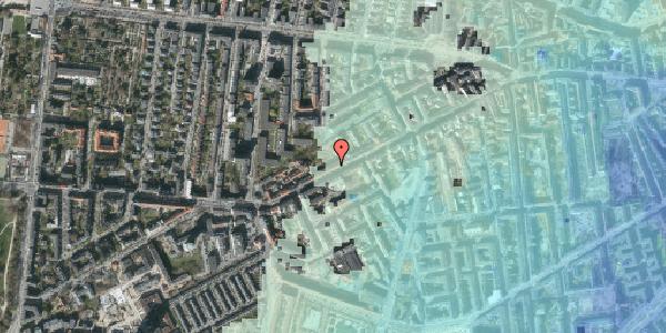 Stomflod og havvand på Vesterbrogade 130A, 1620 København V