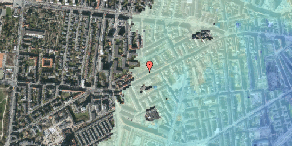 Stomflod og havvand på Vesterbrogade 130B, 4. th, 1620 København V